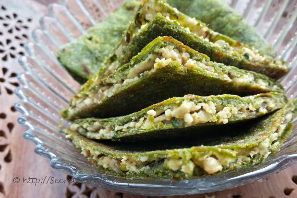 How to make palak paneer paratha spinach cottage cheese stuffed photo of palak paneer paratha spinach cottage cheese stuffed indian bread forumfinder Gallery