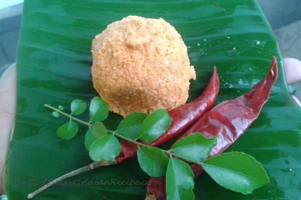 Tenga chammandi ( Coconut chutney)