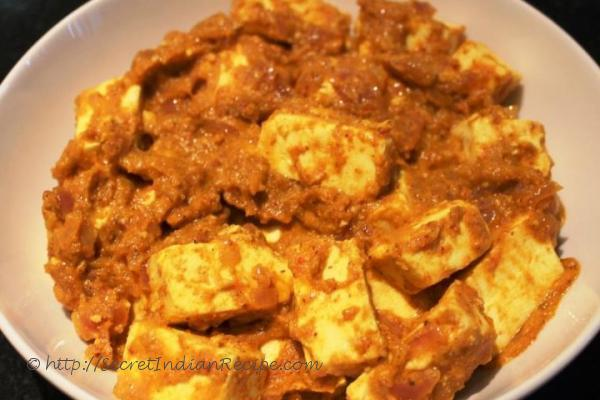 photo of achaari paneer