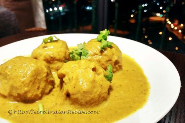 photo of Amritsari Chicken Kofta Curry