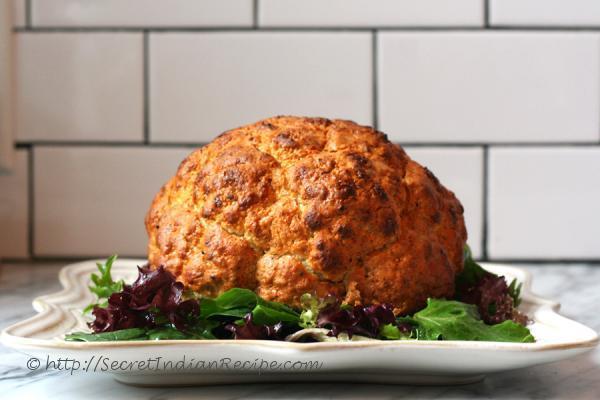 photo of cauliflower roast