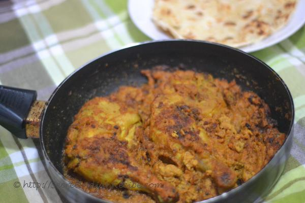 chicken curry recipe bengali style leg