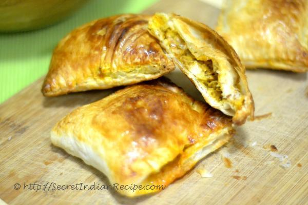 photo of chicken puff pastry (monginis style)