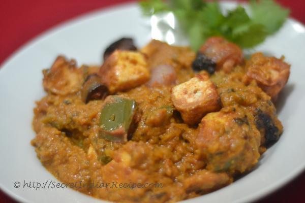 Picture of: Paneer Achari (Pickle Flavored Paneer masala)