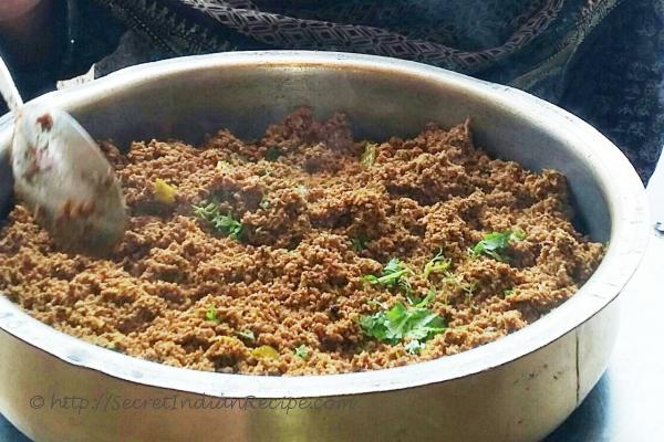 photo of mutton dum kheema