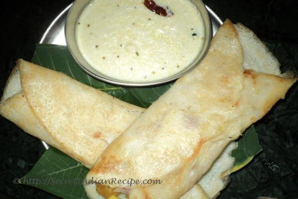 how to make masala dosa at home in hindi