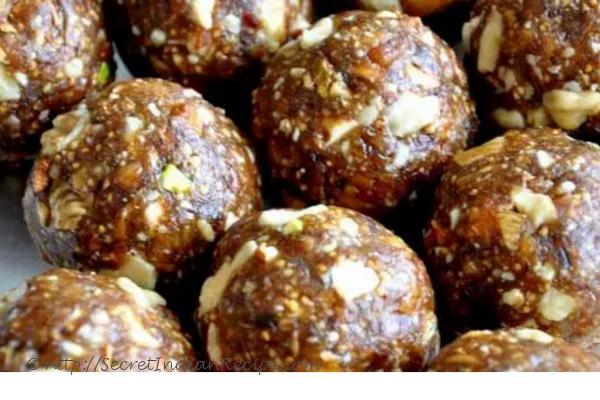 photo of dry fruit laddu recipe