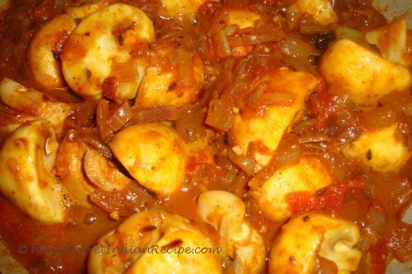 photo of mushroom gravy recipe, how to make mushroom gravy recipe, veg recipes
