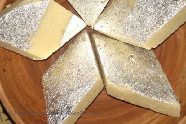 how to cook kaju katli