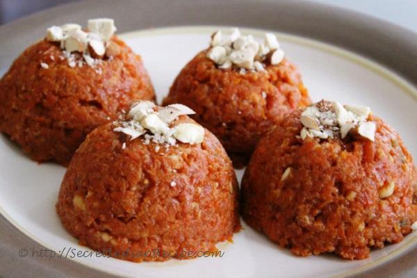 photo of carrot pudding (gajar ka halwa)