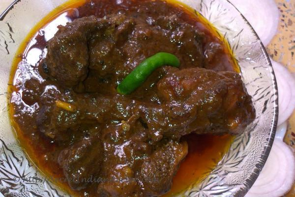 how to make kosha mangsho mutton in thick gravy indian