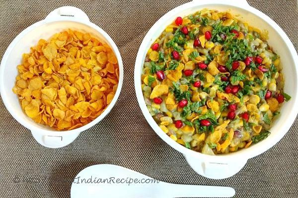 photo of sweet & sour corn & cottage cheese salad