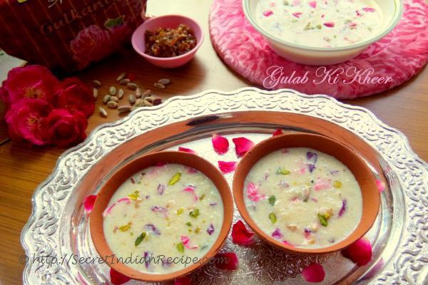 photo of gulab ki kheer / rose pudding recipe