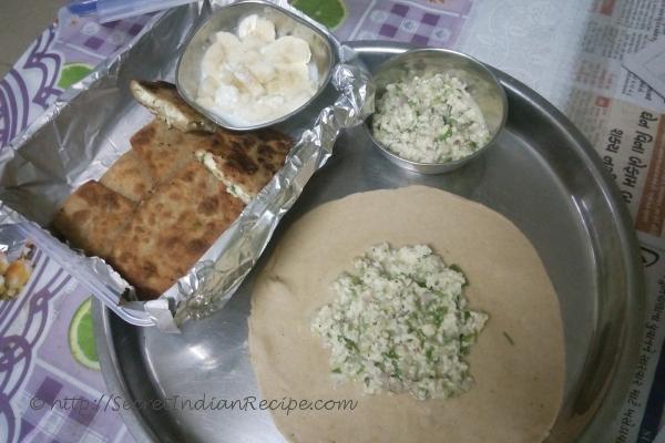 photo of Quick Egg Paneer Paratha