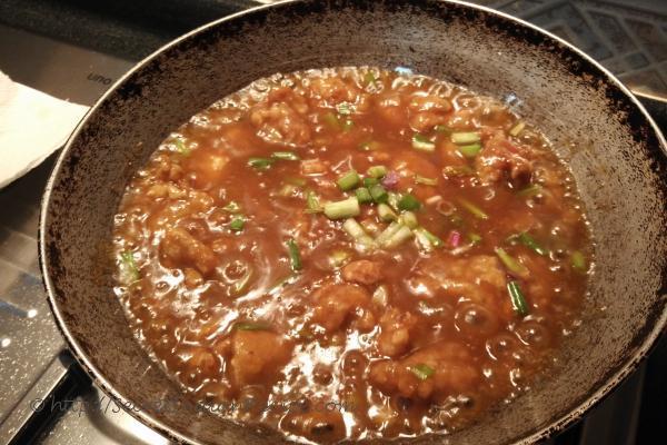photo of rustic chicken manchurian