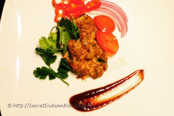 photo of parsley parmesan chicken tikka