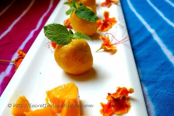 photo of mango sandesh