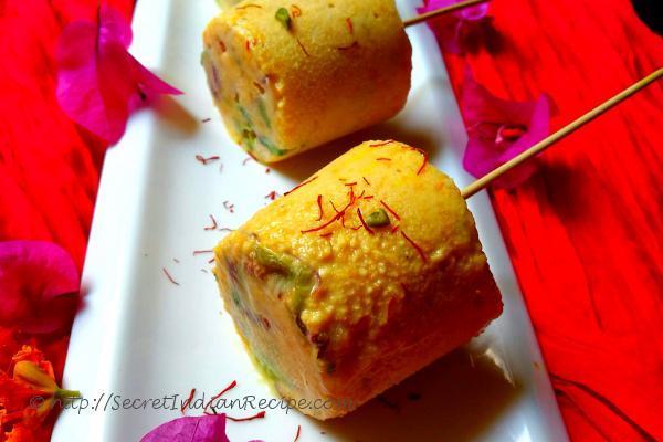 photo of mango kesar pista malai kulfi