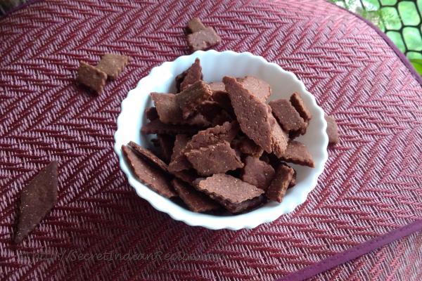 Baked Finger Millet Shankarpale