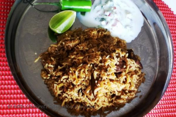 Picture of Mutton Biryani