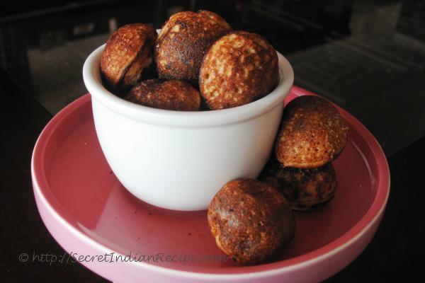photo of Sweet Paniyarams.( Sweet Rice Dumplings)