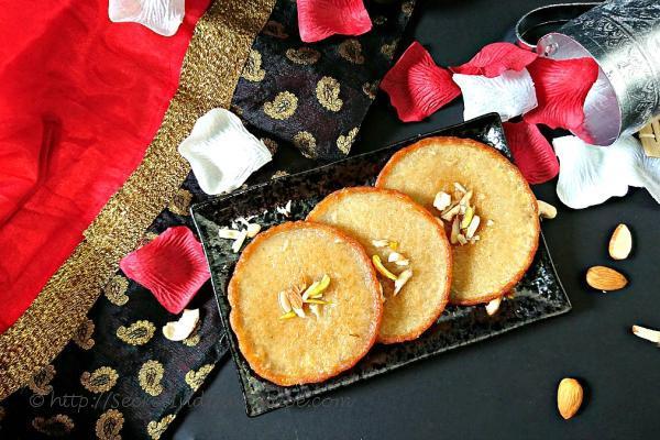photo of whole wheat flour malpua