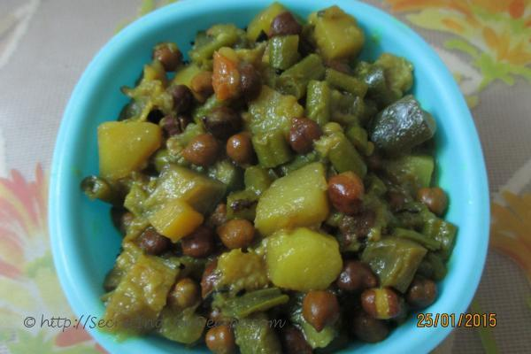 How to make ghanta mix vegetables oriya style indian recipes photo of ghanta mix veg forumfinder Image collections