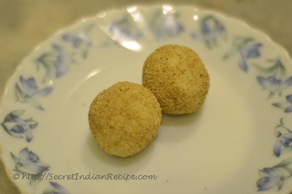 photo of Kolkata Special Posta Sandesh (Poppy seeds coated Bengali sweet)