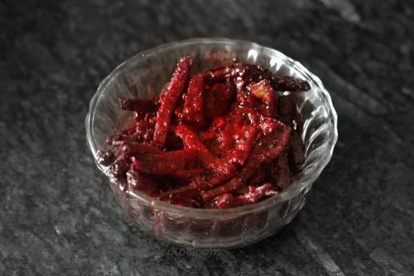 photo of beetroot pickle