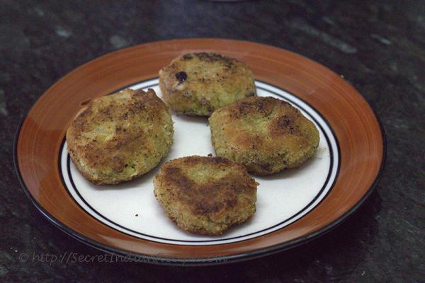photo of broccoli tikki