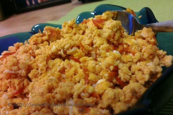 ... to make Anda Bhurji (Egg Bhurji/ Indian Scrambled Eggs) - Indian