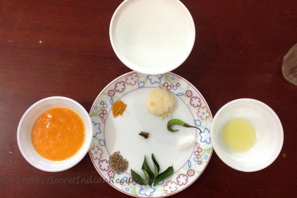 photo of ingredients used in Fajeto