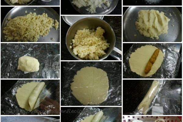 Process of  Kesari badam bahar sandesh roll...