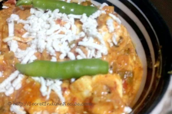 photo of creamy paneer