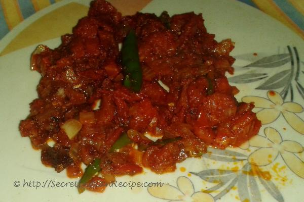 how to prepare tomato fry