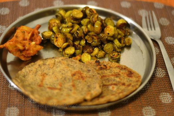 photo of tondli chi bhaji (maharastrain ivy gourd stir fry)