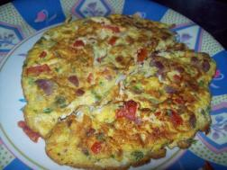 photo of breakfast recipe fluffy omelette