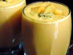 photo of mango lassi