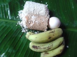 Puttu or steamcake
