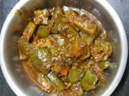 photo of baingan tamatar sabji (brinjal tomato curry)