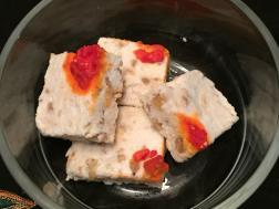 photo of bhapa sandesh( steamed cottage cheese fudge)
