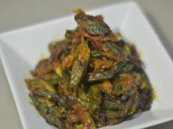 picture of Bhindi Masala (Okra prepared with spicy Indian masalas)