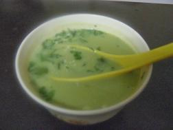 photo of drumstick soup
