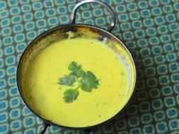 photo of takachi kadhi (yoghurt curry)