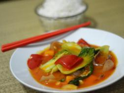 Schezwan Sauce Vegetables