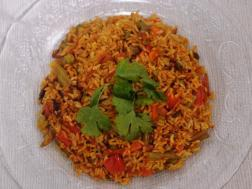 Picture of: Vegetable Biryani (Spicy Pulao)
