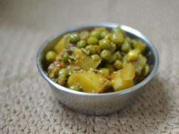picture of Easy Aloo Matar Sabzi ( Easy Potatoes and peas side dish)