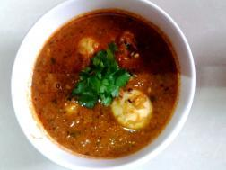 photo of egg curry