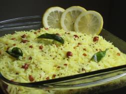 photo of lemon rice