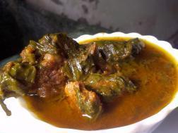 photo of mutton aur palak (mutton in spinach gravy)